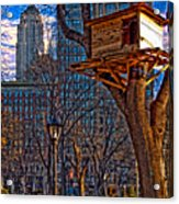City Housing Acrylic Print