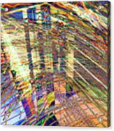 City In Motion 29 Acrylic Print