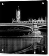 City Lights London Acrylic Print