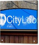 City Loos Acrylic Print