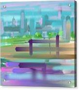 City Acrylic Print