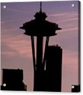 City Needle Acrylic Print