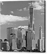 City - Ny - The Shades Of A City Acrylic Print