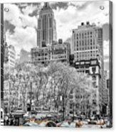 City Of Cabs Acrylic Print