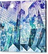 City Of Glass Acrylic Print