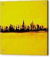 City Of Gold Acrylic Print