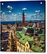 City Of Helsingborg Acrylic Print