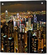City Of Lights Acrylic Print