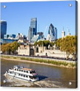 City Of London 12 Acrylic Print