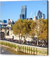 City Of London 14 Acrylic Print