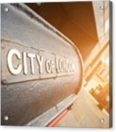 City Of London Acrylic Print