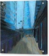 City Of London Street Acrylic Print