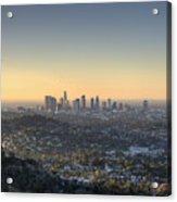 City Of Los Angeles At Dawn Acrylic Print