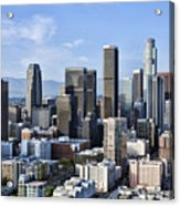 City Of Los Angeles Acrylic Print by Kelley King
