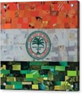City Of Miami Flag Acrylic Print