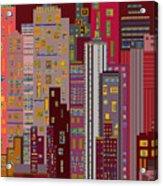 City Of Night Acrylic Print