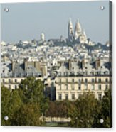 City Of Paris Acrylic Print