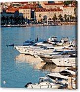City Of Split In Croatia Acrylic Print