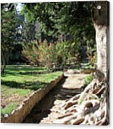 City Park Rhodes Greece Acrylic Print