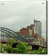 City - Pittsburgh Pa - The Grand City Of Pittsburg Acrylic Print