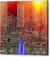City Sailin Acrylic Print