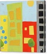 City Scene 2 Acrylic Print
