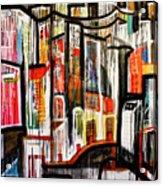 City Scene Acrylic Print