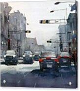 City Shadows 2 Acrylic Print
