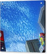 City Sky Acrylic Print