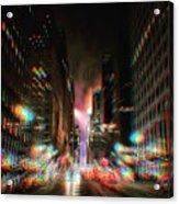 City Speed  Acrylic Print