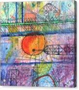 City Sunrise  Acrylic Print