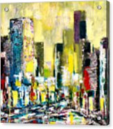 City Sunrise Acrylic Print