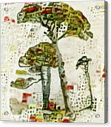 City Trees Acrylic Print