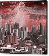 City Under Water Acrylic Print