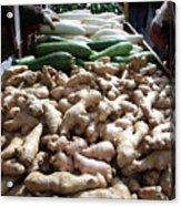City Vegetable Stand Acrylic Print