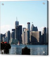 City View From The Island  Acrylic Print