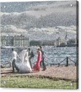 city Weddings Acrylic Print