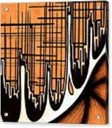 Cityscape One Acrylic Print by Jeff DOttavio