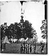 Civil War: Balloon, 1862 Acrylic Print