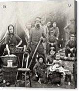 Civil War: Camp Life, 1861 Acrylic Print