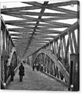 Civil War - Chain Bridge Acrylic Print