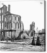 Civil War: Fall Of Richmond Acrylic Print