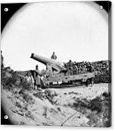 Civil War: Fort Fisher, 1865 Acrylic Print
