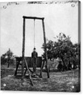 Civil War: Hanging, 1864 Acrylic Print