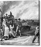 Civil War: Martial Law Acrylic Print by Granger