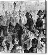 Civil War: Prisoner, 1864 Acrylic Print