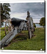 Civil War Rifle Acrylic Print