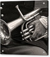 Civil War Trumpet Acrylic Print