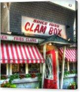 Clam Box Restaurant - Ipswich Ma Acrylic Print by Joann Vitali