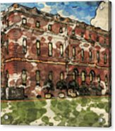 Clandon House Acrylic Print